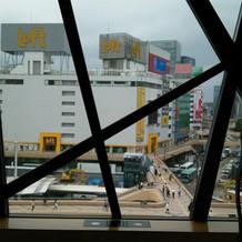 仙台の町並みが見える
