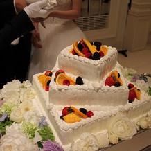 ウエディングケーキ別角度