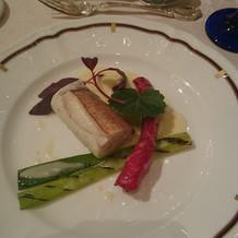 和洋折衷コース 魚料理