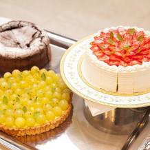 ケーキ全体