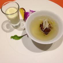 冷たいスープ、暖かいスープ