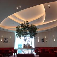 ローズの形の天井