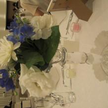 客席の装花