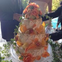 かわいーケーキ