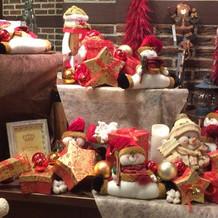 クリスマスシーズンの小物