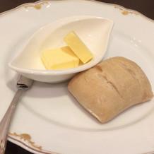 試食について来るパン