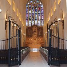 大聖堂・ステンドグラス