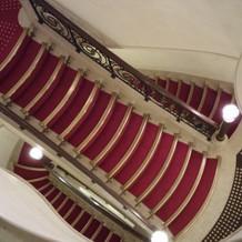 螺旋階段がとても素敵です。