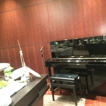 ピアノあり