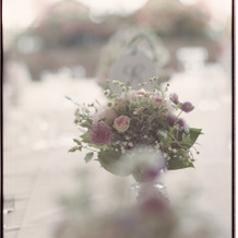 当日の卓上装花