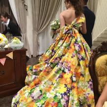 気になってた蜷川実花のドレス!