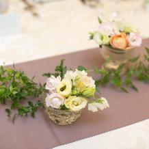 装花(ゲストテーブル)