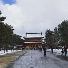 平安神宮まで徒歩すぐ。観光にも便利です