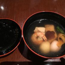 博多ではお雑煮をお祝いで食べるそうです。