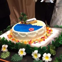オリジナルケーキ!