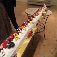 ロングロールケーキ