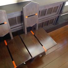 ライトの椅子
