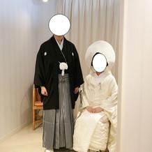 白無垢 紋服
