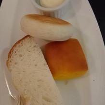 試食時  パン