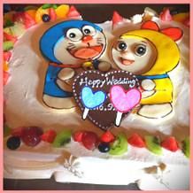 ケーキは要望を聞いてくれます!