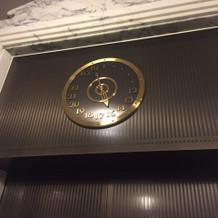 エレベーター表記が針でした