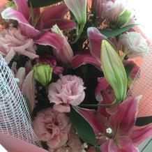両親へ贈る花束