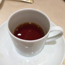 お口直しの紅茶