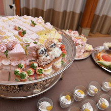 生ケーキもカットして一緒に並びました