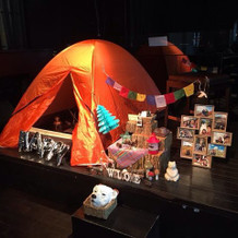 趣味の登山用テント