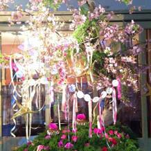 オリジナルの装花