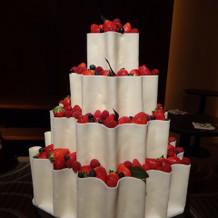 ホワイトケーキ