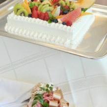 ケーキは4~5種類の中から選びました