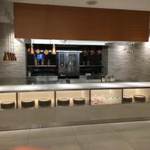 新会場オープンキッチン