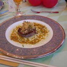 肉料理 夏の季節コース