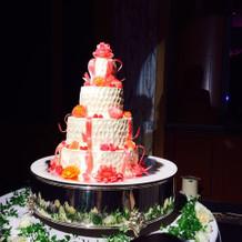 ケーキもとても可愛かったです!