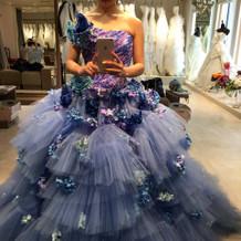 カラードレスもたくさん