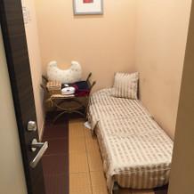 地下の授乳室。思ったより広いです!