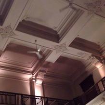 高い天井が素敵