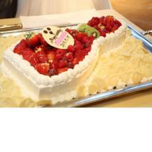 オリジナルケーキ。