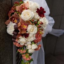 大満足の装花1