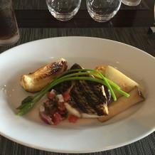 お魚の料理