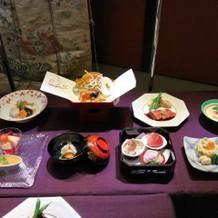 和食のコース3