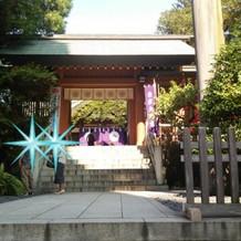 東京大神宮の入口