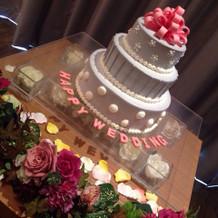 ウエディングケーキです^ ^