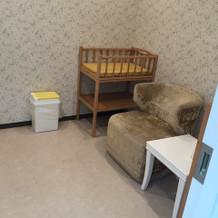 赤ちゃん用スペース