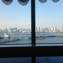 ホテルからみた外の風景