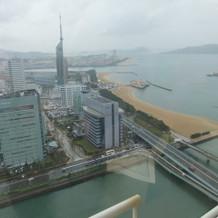上から見たビルやタワー