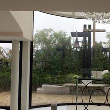 チャペル(雨の日