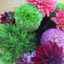 和装での髪飾り用 生花