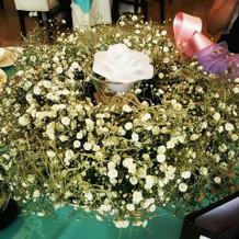 お花とウォーターフラワー